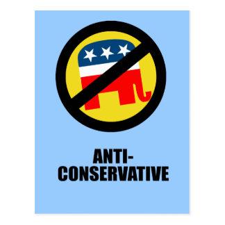 Anti-Conservative Postcard