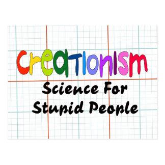 Anti-Creationism Postcard