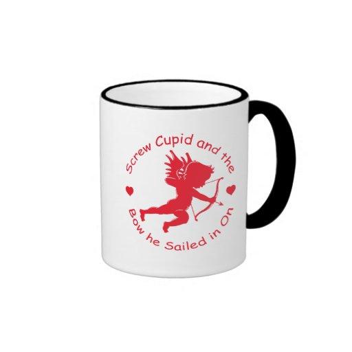 Anti Cupid Gear Coffee Mug
