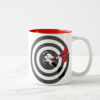 Anti Cupid Two-Tone Coffee Mug