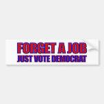 Anti-Democrat 2012 Elections Anti Obama Bumper Stickers