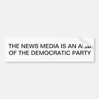 Anti-Democrat,Anti-Obama ,Bumper sticker