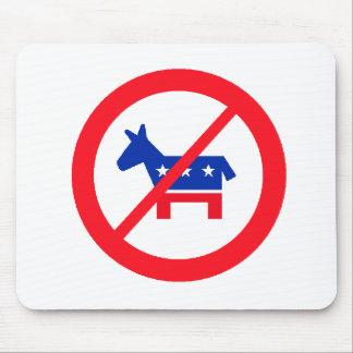 Anti-Democrat Donkey Mouse Pad