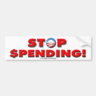 "Anti Democrat ""Stop Spending!"" bumper sticker"