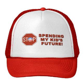 """anti Democrat """"Stop Spending s Future"""" Hat"""