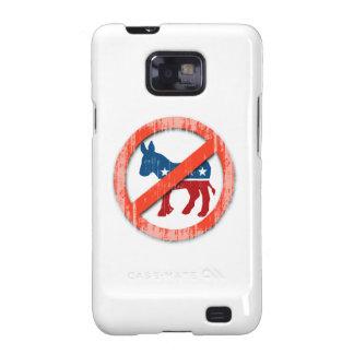 ANTI-DEMOCRATS Faded.png Samsung Galaxy SII Case