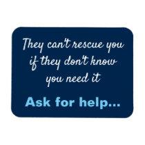 Anti Depression Suicide Prevention Magnet