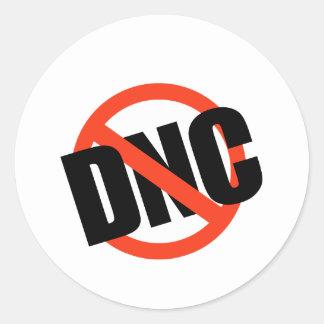 Anti-DNC Classic Round Sticker