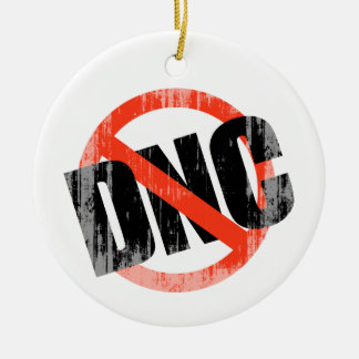 Anti-DNC Faded png Christmas Tree Ornaments