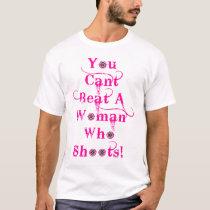 anti domestic violence gun owner T-Shirt