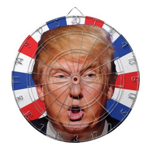 Anti Donald Trump Big Mouth Dartboard | Zazzle