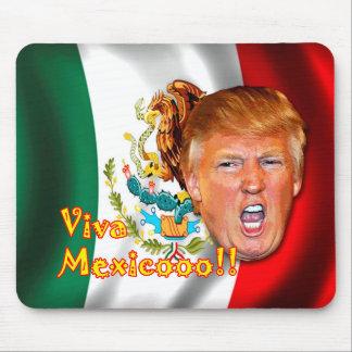 Anti-Donald Trump ViVa Mexico mouse pad. Mouse Pad