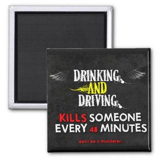 Anti-Drinking & Driving Magnet