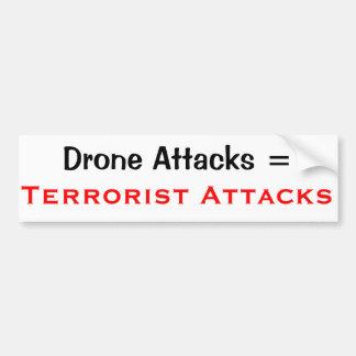 Anti Drone strike Sticker Bumper Sticker