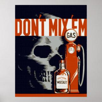 Anti Drunk Driving Print