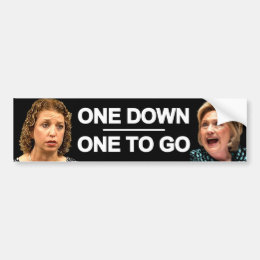Anti DWS and Hillary Bumper Sticker