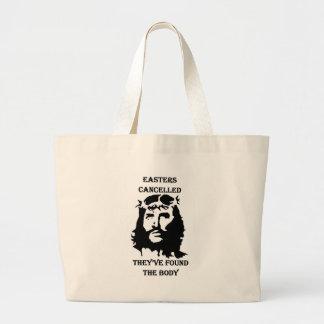 anti Easter Large Tote Bag