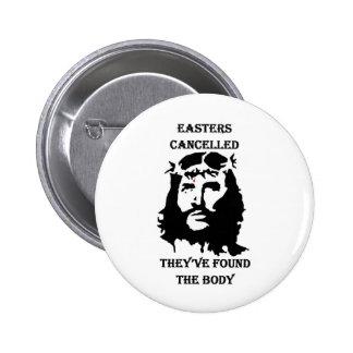 anti Easter Pinback Button