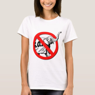Anti-Elephant 1.png T-Shirt
