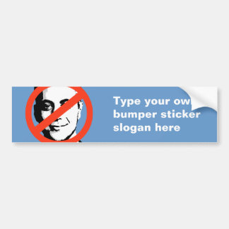 ANTI-EMANUEL: ANTI-Rahm Emanuel Bumper Stickers