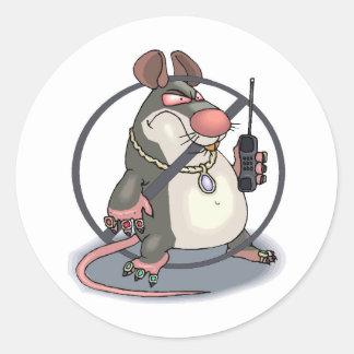 Anti-Espía ningún pegatina de las ratas
