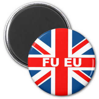 Anti EU British flag Magnet
