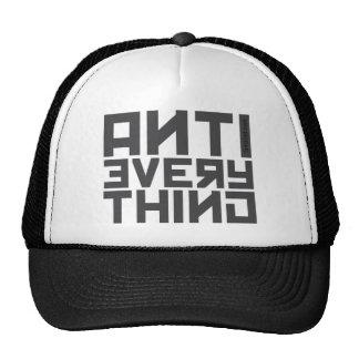 Anti Everything (Raglan) Trucker Hat