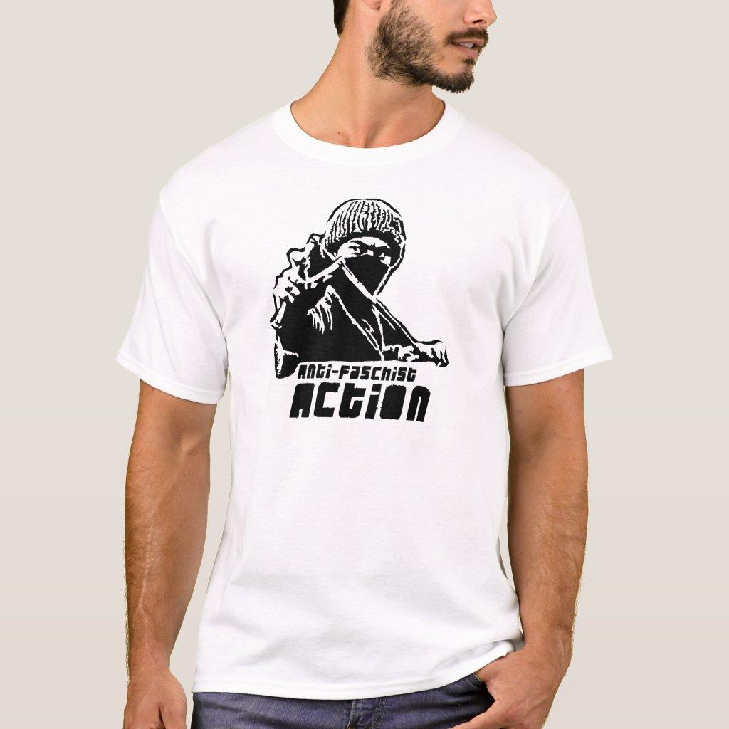 Anti Fascist Action! T-Shirt