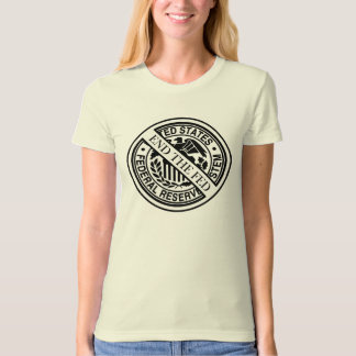 Anti Federal Reserve Logo with Famous Quotes 2 T Shirt