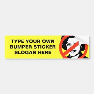 ANTI-FEINSTEIN: ANTI-Diane Feinstein Gear Bumper Sticker