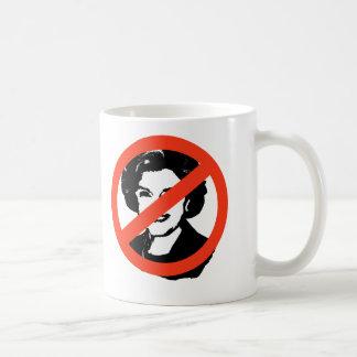 ANTI-FEINSTEIN: Engranaje de Anti-Diane Feinstein Taza De Café