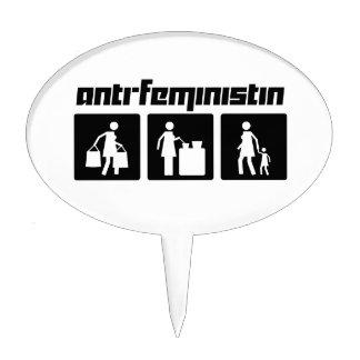 Anti-Feministin 2 Cake Topper