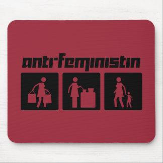 Anti-Feministin 2 Mouse Pad