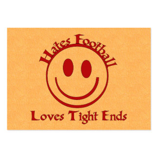 Anti-Football Humor Large Business Cards (Pack Of 100)