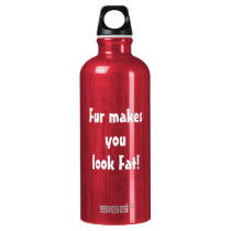 Anti Fur Animal Rights Water Bottle