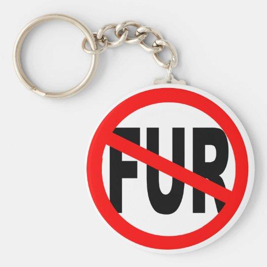 Anti Fur Design Keychain