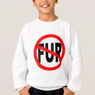 Anti Fur Design Sweatshirt