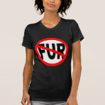 Anti Fur Design Tee Shirts