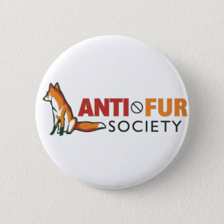 Anti-Fur Society Pinback Button