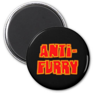 Anti Furry Refrigerator Magnets