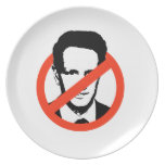 ANTI-GEITHNER - PARTY PLATE