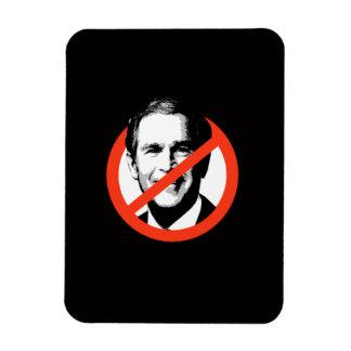 Anti-George W. Bush Rectangular Photo Magnet