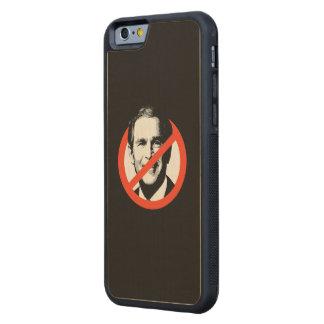 Anti-George W. Bush Carved® Maple iPhone 6 Bumper Case