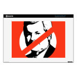 """ANTI-GINGRICH DECALS FOR 13"""" LAPTOPS"""