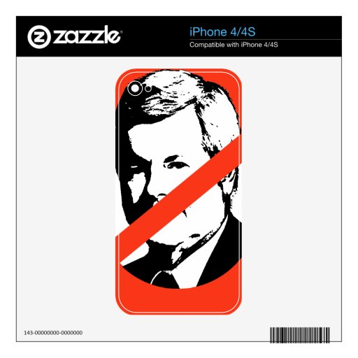 ANTI-GINGRICH SKINS FOR THE iPhone 4S