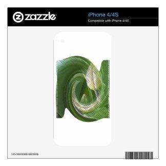 anti-glamorous tulips iPhone 4S skins