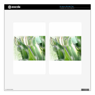 anti-glamorous tulips kindle fire decals