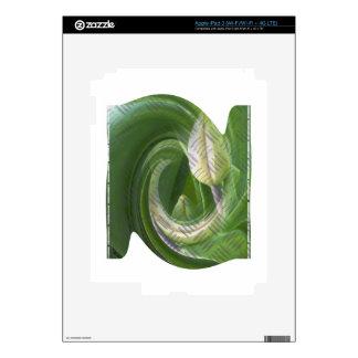 anti-glamorous tulips skins for iPad 3