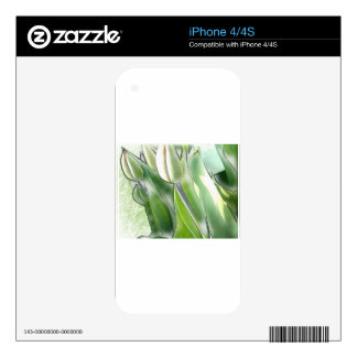 anti-glamorous tulips skins for iPhone 4