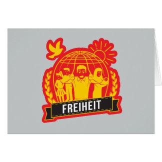 ANTI-GLOBALISIERUNG FREIHEIT/FREEDOM - DEUTSCHLAND CARD